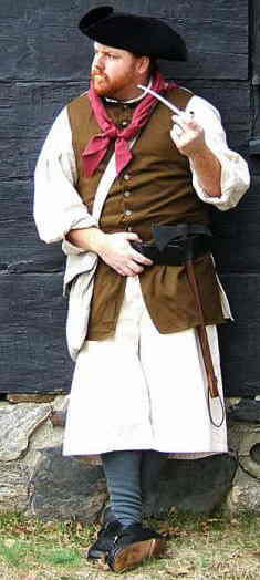 18th Century Sailor's Clothing